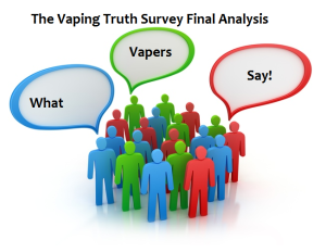 "The ""Vaping Truth Survey"" Final Analysis."
