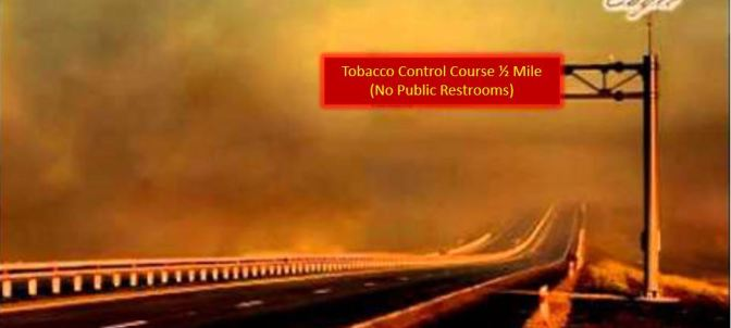Controlling tobacco roads – paved with g̶o̶o̶d̶ intentions